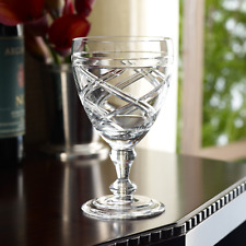 "*NEW* Ralph Lauren ""Brogan"" Goblet / Red Wine Glass - Lead Crystal *NWT*"