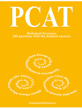PCAT Biological Processes - 200 questions with the detailed answers