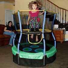 Baby Child Kids Toddler Children Safe Mini Indoor Trampoline Bouncer Enclosure