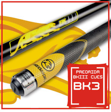 BK3 Billiard Pool Cue Tips 12.75mm Rubber Handle Pool Cues Stick Black