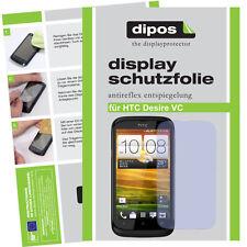 1x HTC Desire VC Schutzfolie matt Displayschutzfolie Antireflex Passgenau
