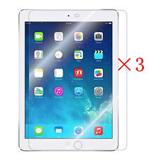 3 X Ultra Clear LCD Screen Protector Cover Guard Shield For Apple iPad Air 1 & 2