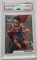 2019-20 Panini Mosaic Rookie #211 Coby White RC PSA 10 Gem Mint