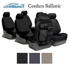 Coverking Custom Tactical Seat Covers Ballistic Canvas 3 Row Set - 3 Colors