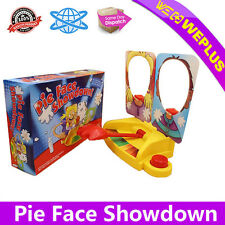 New Showdown Pie Face Game Family Fun Filled Rocket Party Board Game Gift Toy