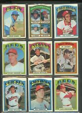 1972 Topps Assorted  LOT of 657  lot D