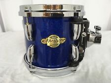 """Pearl Masters MCX 8"""" Mounted Tom/Navy Blue Sparkle/Finish #199/Maple Shell"""