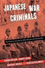 Japanese War Criminals: The Politics of Justice After the Second World War, Crib