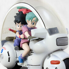 Dragon Ball Z Fantastic Arts Son Gokou & Bulma on Bike Figure BANDAI JAPAN ANIME