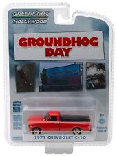 1:64 GreenLight *HOLLYWOOD R21* GROUNDHOG DAY 1971 Chevrolet C-10 Pickup NIP!