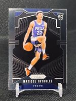 MATISSE THYBULLE ROOKIE 2019-20 PRIZM NBA BASE ROOKIE RC SP #290 76ers🔥