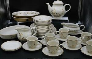 Large 38 Piece Harvest 1418 Dinner, Tea Service Set, Collectable Set