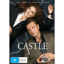 CASTLE.-Season 7-Region 4-New AND Sealed-6 DVD Set-TV Series