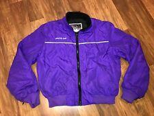 Arctic Cat Snowmobile Mountain Racing Womens MEDIUM Neon SKI vtg 90s Jacket Coat
