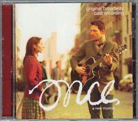 ONCE Musical Original Broadway Cast Recording CD Glen Hansard Marketa Irglova