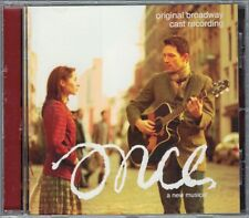 ONCE Musical Original Broadway Cast Recording CD Glen Hansard Marketa Irglova