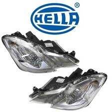 For Mercedes W207 E350 E550 Pair Set of Left & Right Halogen Headlights Hella