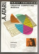 HYPERPAINT II MUSIC MAKER II FIRST BASIC - BOOK FOR ATARI ST (no discs included)