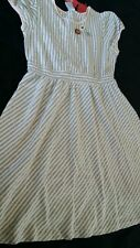 GYMBOREE SCHOOL GIRLS ROCK KNIT STRIPED DRESS 12 NWT