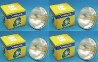 4 St. Omnilux PAR56 230v / 300w MFL 2000h Medium Flood Lampe Leuchtmittel PAR 56