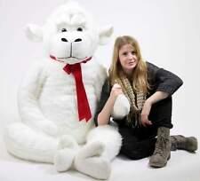 American Made White 6 Foot Giant Stuffed Gorilla 72 Inch Soft Stuffed Monkey New