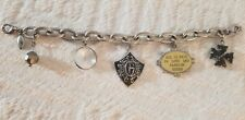 GUESS Silver Charm All is Fair in Love and Fashion Bracelet