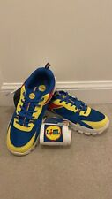 Lidl Trainers Limited Fan Edition Trainers Shoes Mens Size Uk8 Free Socks Inc