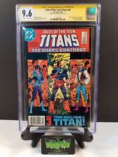 TALES OF TEEN TITANS #44 1ST NIGHTWING CGC SS 9.6 **SIGNED BY MARV WOLFMAN**