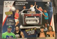 Better Toyz WWE Superstars Bounce Ring for Kids. Brand new! Sealed