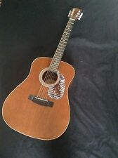 Vintage 1981 Hondo H-124N acoustic Guitar Made in Korea - Stunning!
