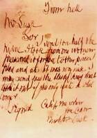 Framed Print - Jack the Ripper Letter to the Police (Crime Picture Art Replica)