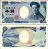 JAPAN 1000 1,000 YEN ND 2004 P 104 UNC