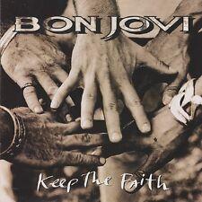 Bon Jovi Keep The Faith Europe Lp Original 1992 Issue