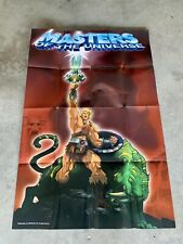 200X MOTU Promo Poster (39? x 26?) He-man and The Masters Of The Universe.