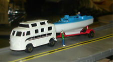 MAISTO - VW CHAMPER WITH BOAT ON TRAILER - S TRAIN VEHICLE