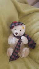 steiff teddy bear. Perfect condition.  Never been played with. Kept in bag.