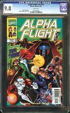 Alpha Flight #16 Vol. #2 CGC 9.8 BIG HERO 6 creators Seagle & Rouleau