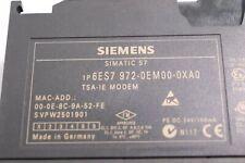 Siemens 6ES7 972-0EM00-0XA0 Analog Modem Connection E-Stand 1