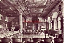 1980 RPPC - KONZERTSAAL IM ALTENBURGER SCHLOSS (Bachsaal) Continental-size