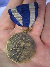 WWI Original New York 1916-17 Service Medal ~ Serial Number 15576
