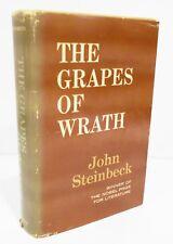 THE GRAPES OF WRATH by JOHN STEINBECK HCDJ 1967 BOOK CLUB EDITION