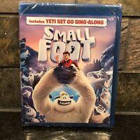 SMALLFOOT BLU-RAY + DVD + Digital 2 DISC SET **No Slip** Smallfoot Ships Fast!!!