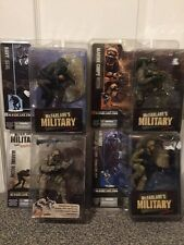 McFarlane's Military 4 pc Lot Navy Marine Air Force Brand New Sealed