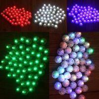 25Pcs Mini Colorful Luminous LED Ball Balloon Lamp Light Party Birthday Decor