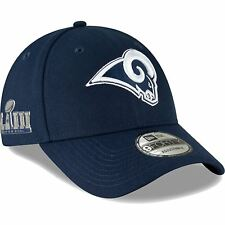 1c1cf1981e6a4 Los Angeles Rams Era Super Bowl LIII Side Patch 9forty Adjustable Hat