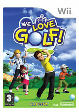 Capcom Nintendo Wii Golf Video Games