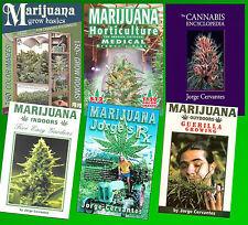 Jorge Cervantes ULTIMATE Marijuana Horticulture Collection!  Complete Works 1-6!