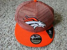 Denver Broncos Flatbrim Snapback Knit Hat