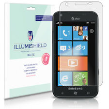iLLumiShield Anti-Glare Screen Protector 3x for Samsung Focus S I937 (AT&T)