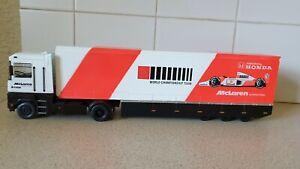 PANINI F1 COLLECTION - RENAULT TRANSPORTER - McLAREN  - 1/43 SCALE MODEL LORRY